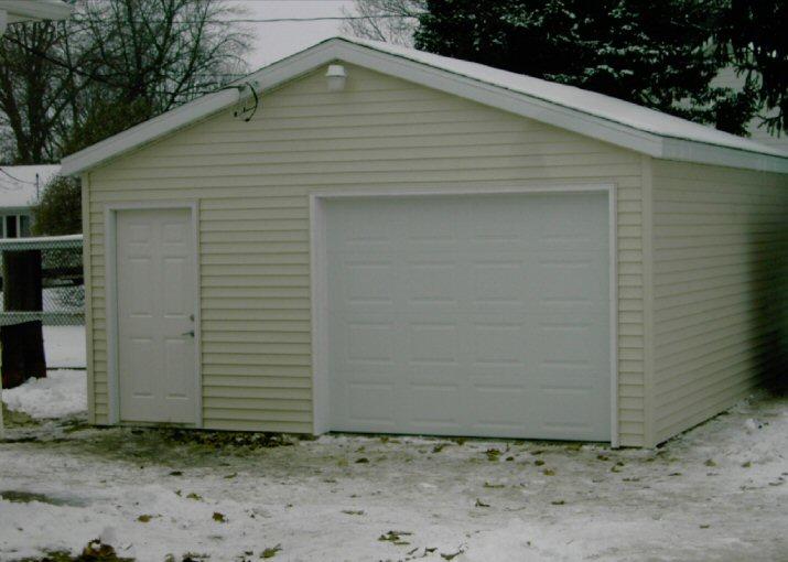 Stick Built Carports : Path construction stick built garages